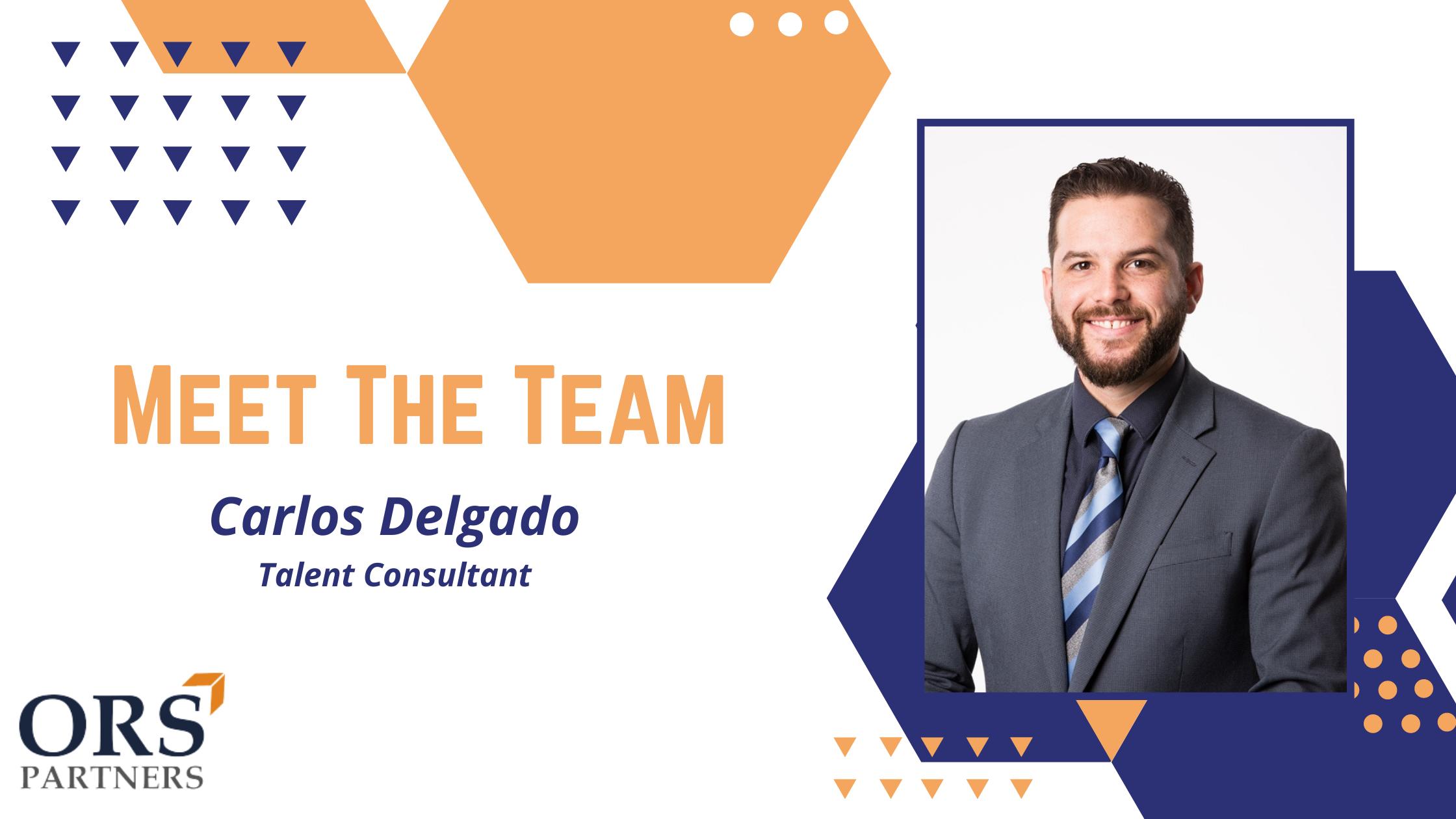 Meet the Team: Carlos Delgado