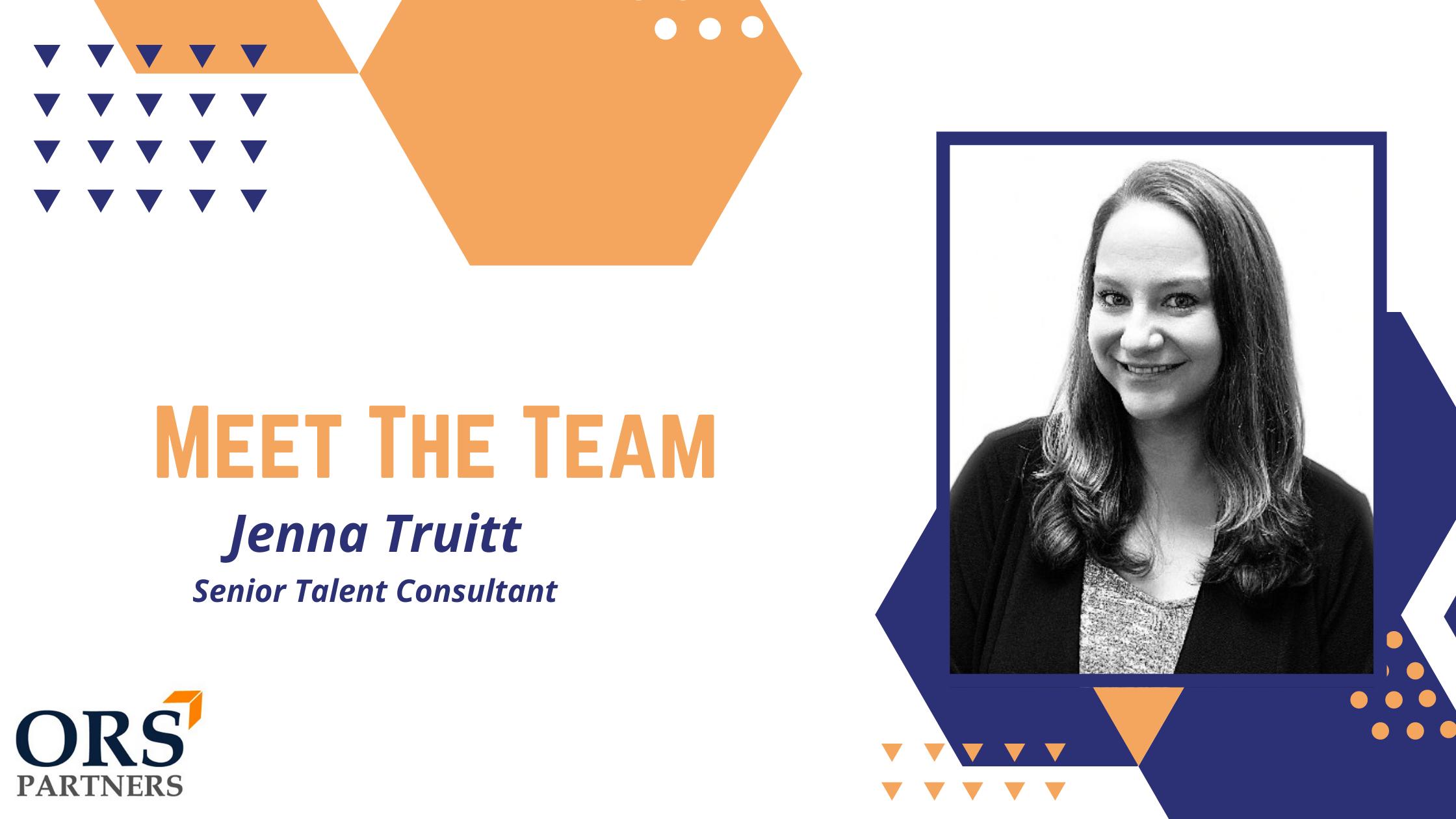 Meet the Team: Jenna Truitt