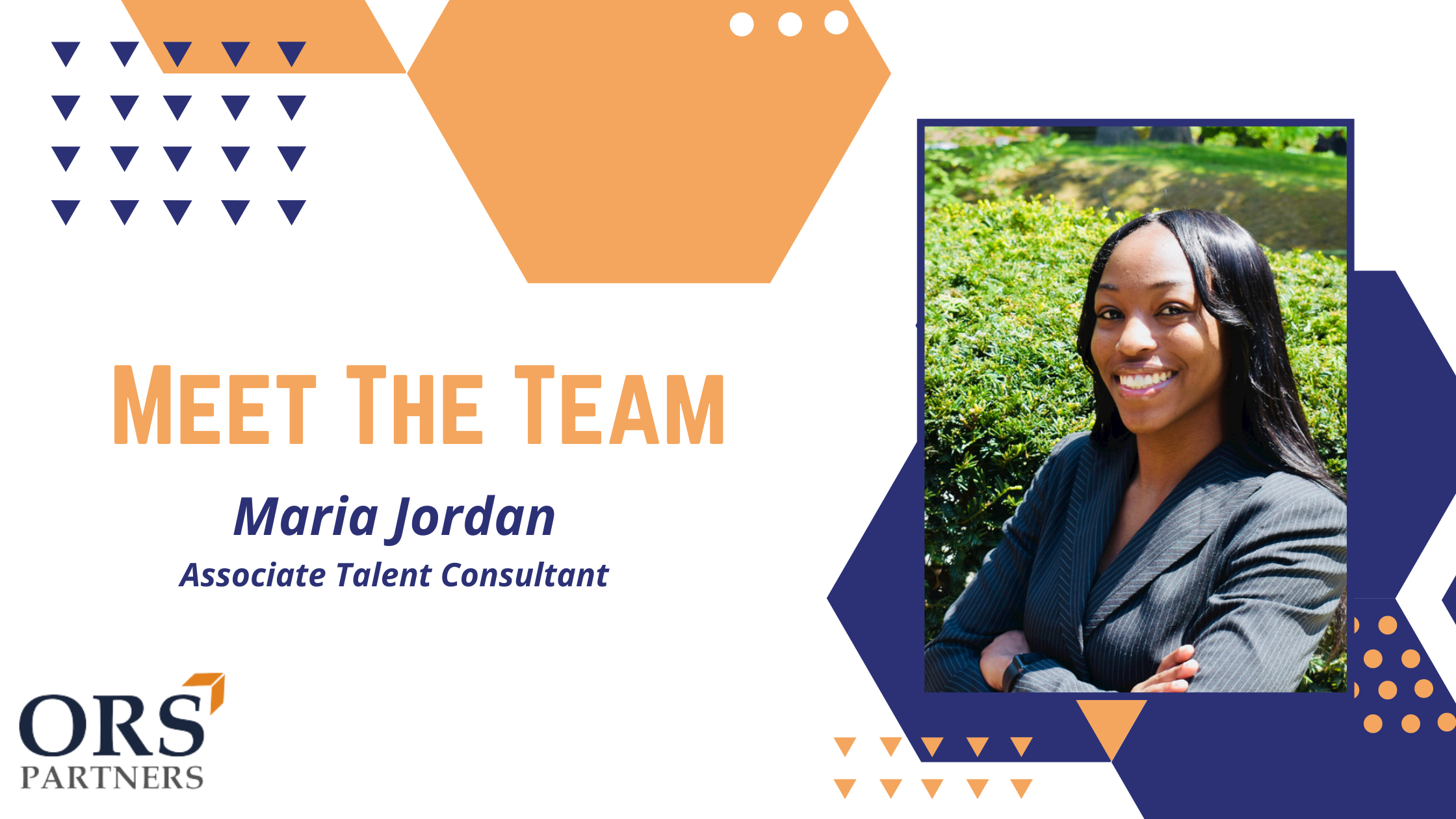 Meet the Team: Maria Jordan