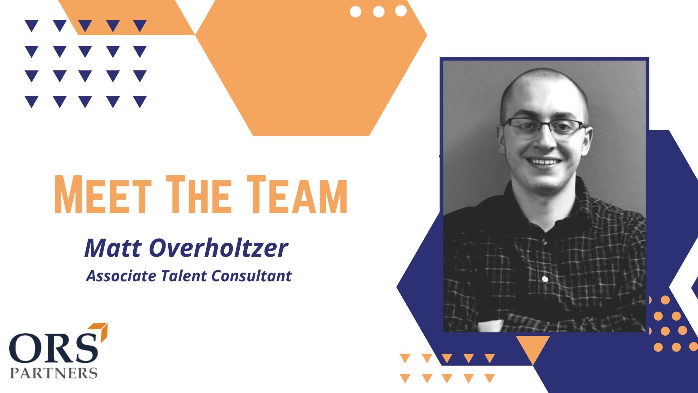 Meet the Team: Matt (Mo) Overholtzer