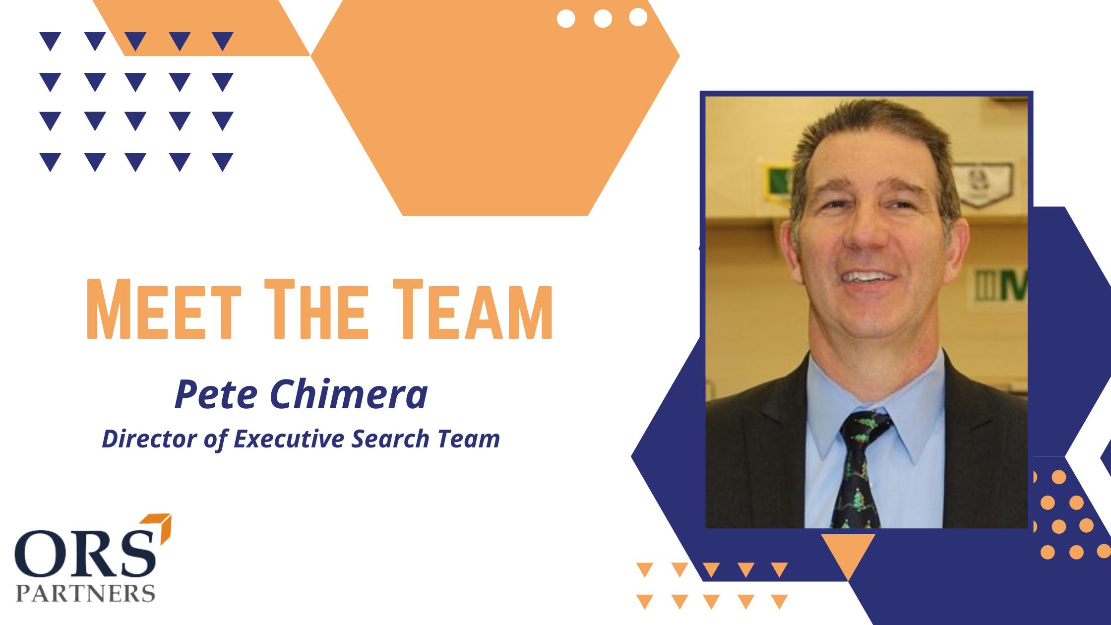 Meet the Team: Pete Chimera